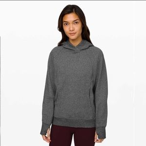 Scuba Pullover  heathered speckled black